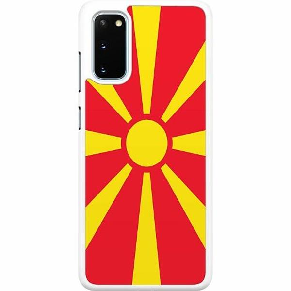 Samsung Galaxy S20 Hard Case (Vit) Macedonia