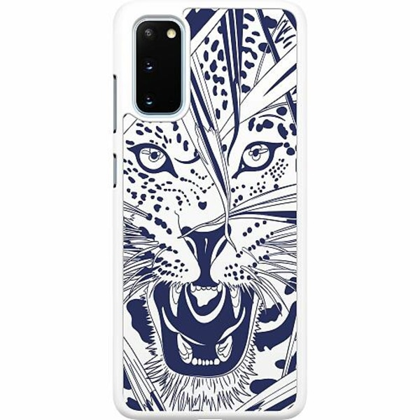 Samsung Galaxy S20 Hard Case (Vit) Manga Tiger