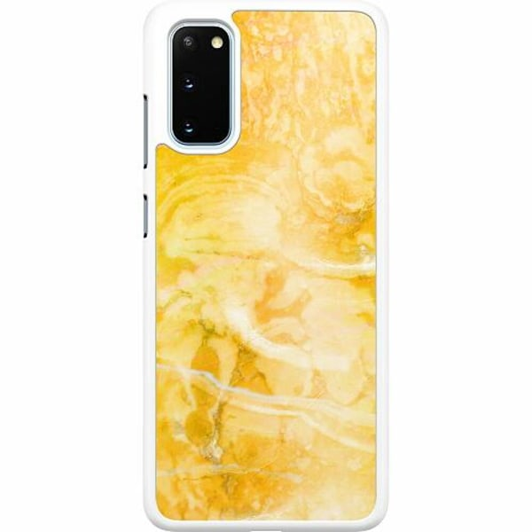 Samsung Galaxy S20 Hard Case (Vit) Microscopic Evaluation