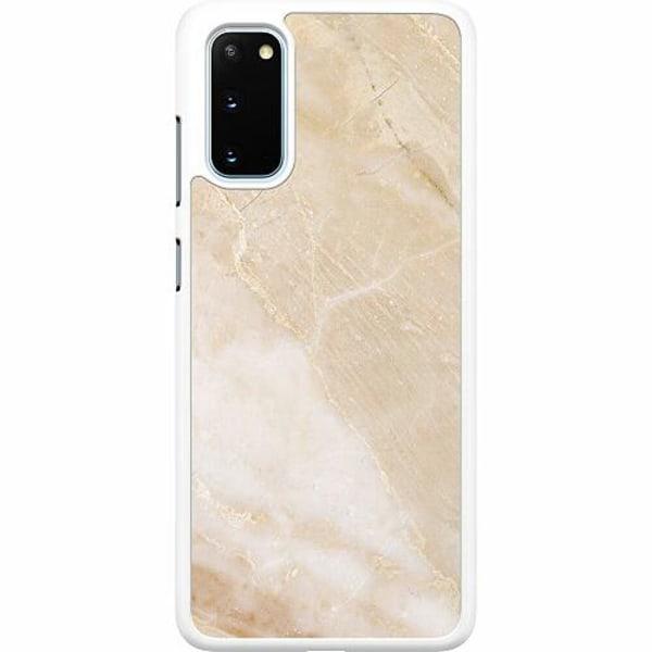 Samsung Galaxy S20 Hard Case (Vit) More Marble