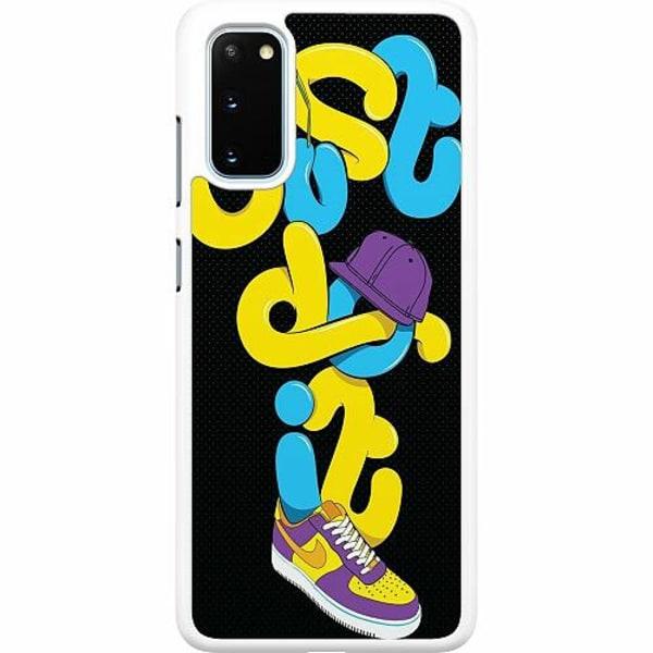 Samsung Galaxy S20 Hard Case (Vit) Nike