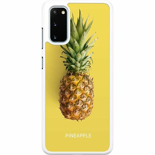 Samsung Galaxy S20 Hard Case (Vit) Not A Pine Nor A Fruit