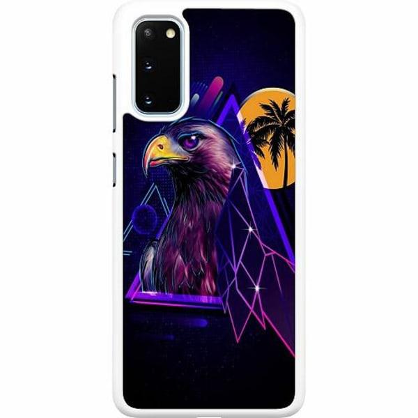 Samsung Galaxy S20 Hard Case (Vit) Örn