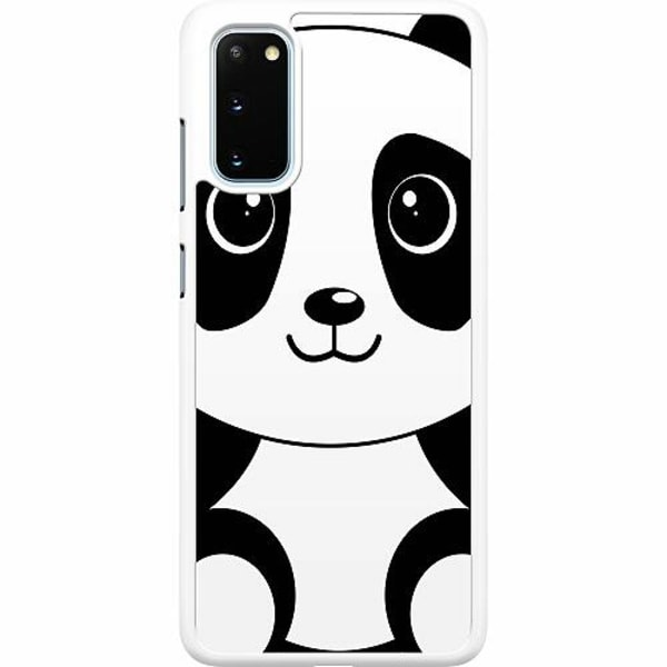 Samsung Galaxy S20 Hard Case (Vit) Panda