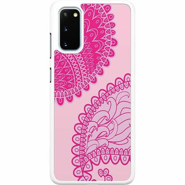 Samsung Galaxy S20 Hard Case (Vit) Pinkish Life