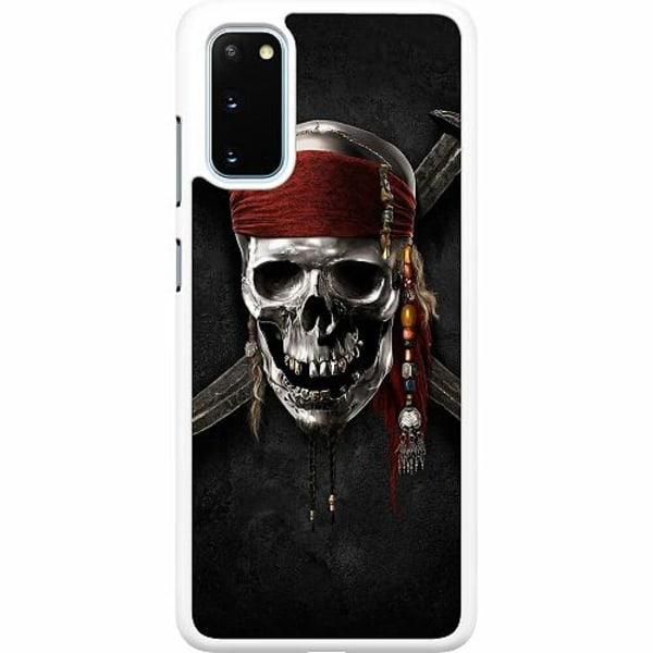 Samsung Galaxy S20 Hard Case (Vit) Pirate