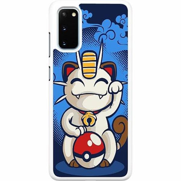 Samsung Galaxy S20 Hard Case (Vit) Pokemon