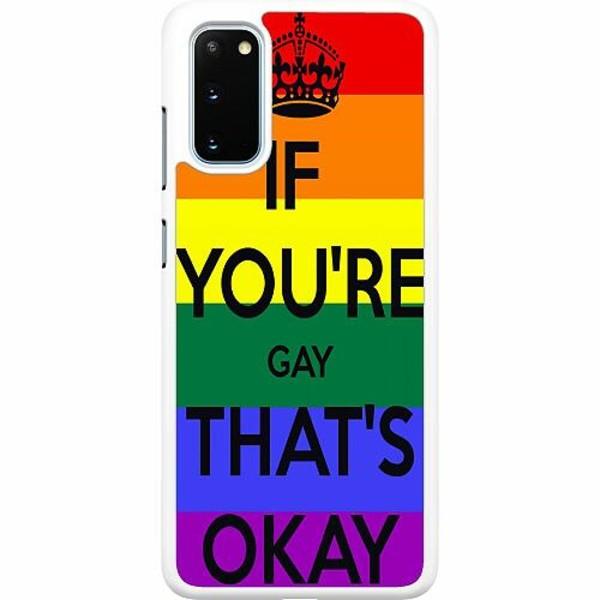 Samsung Galaxy S20 Hard Case (Vit) Pride