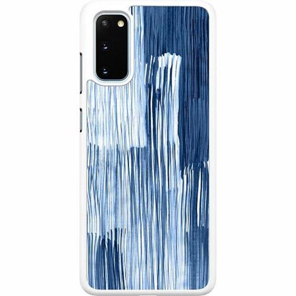 Samsung Galaxy S20 Hard Case (Vit) Rain On Windowsill