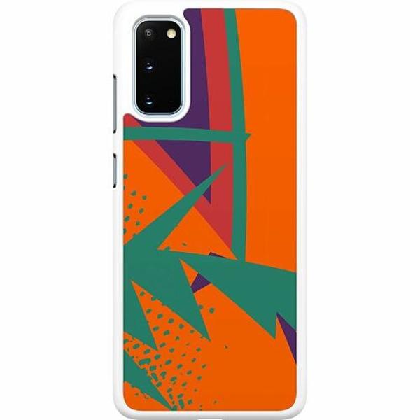 Samsung Galaxy S20 Hard Case (Vit) Retro x200