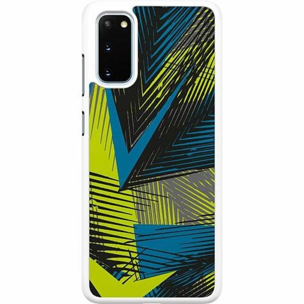 Samsung Galaxy S20 Hard Case (Vit) Retro x500