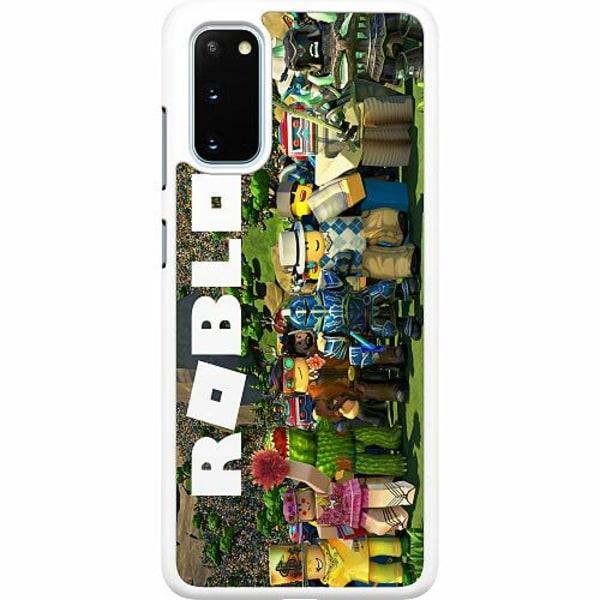 Samsung Galaxy S20 Hard Case (Vit) Roblox