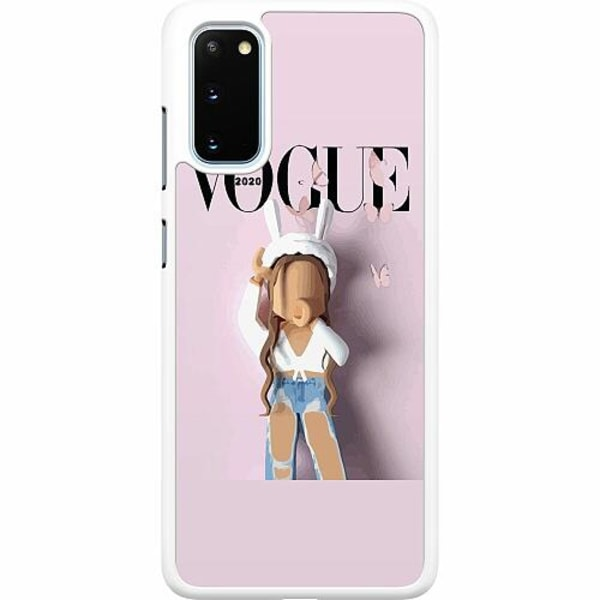 Samsung Galaxy S20 Hard Case (Vit) Roblox Vogue
