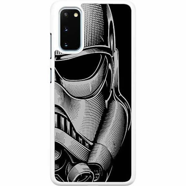Samsung Galaxy S20 Hard Case (Vit) Stormtrooper