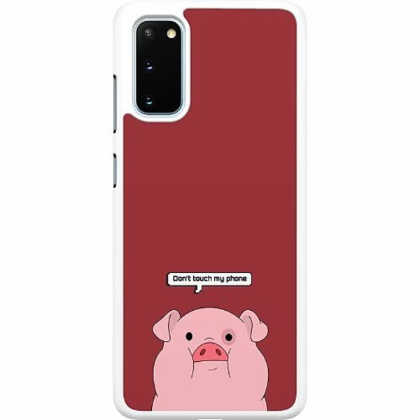 Samsung Galaxy S20 Hard Case (Vit) Touch My Phone