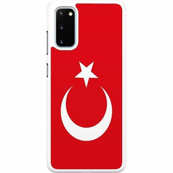 Samsung Galaxy S20 Hard Case (Vit) Turkiet