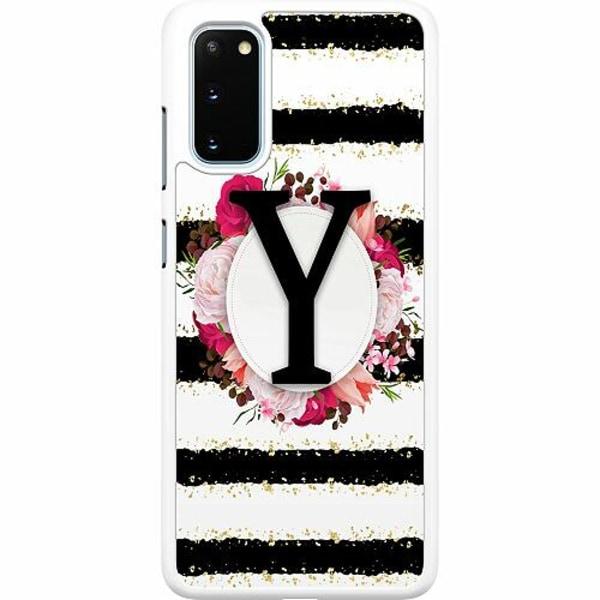 Samsung Galaxy S20 Hard Case (Vit) Y
