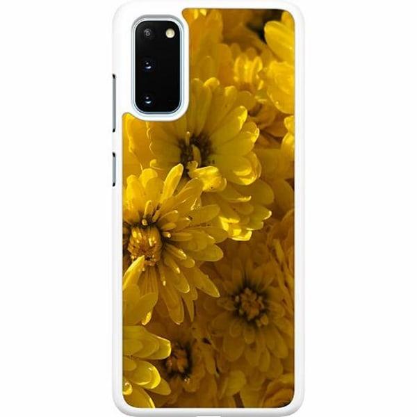 Samsung Galaxy S20 Hard Case (Vit) Yellowy. Kinda