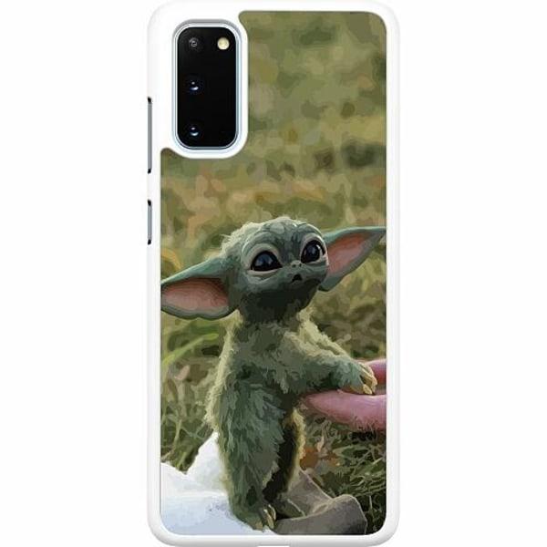 Samsung Galaxy S20 Hard Case (Vit) Yoda