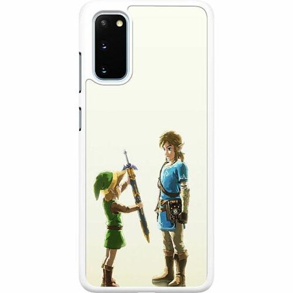 Samsung Galaxy S20 Hard Case (Vit) Zelda