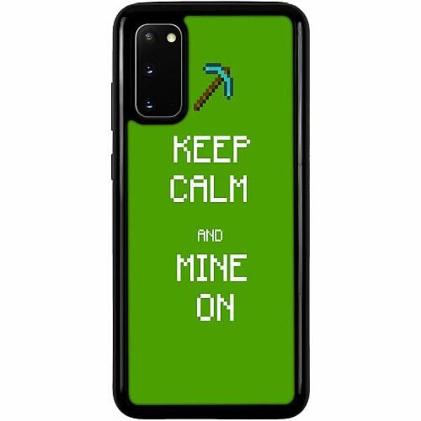 Samsung Galaxy S20 Heavy Duty 2IN1 MineCraft Rainbow