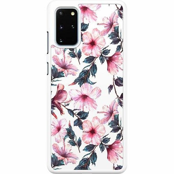 Samsung Galaxy S20 Plus Hard Case (Vit) Floral Spring