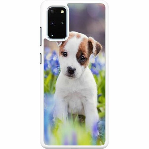 Samsung Galaxy S20 Plus Hard Case (Vit) Hello Doggo