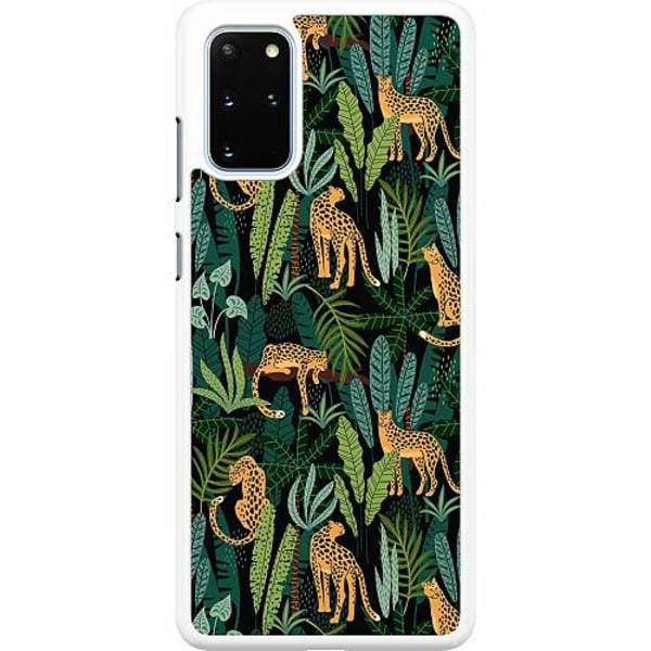 Samsung Galaxy S20 Plus Hard Case (Vit) Jungle Days