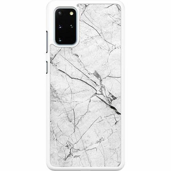 Samsung Galaxy S20 Plus Hard Case (Vit) Marmor Vit