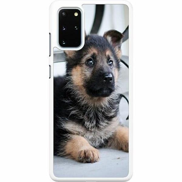 Samsung Galaxy S20 Plus Hard Case (Vit) Schäfer Puppy