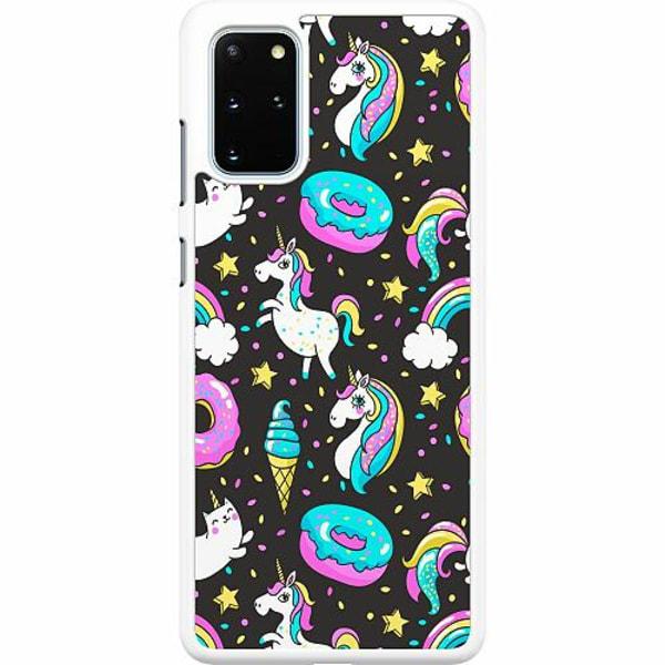 Samsung Galaxy S20 Plus Hard Case (Vit) Unicorn