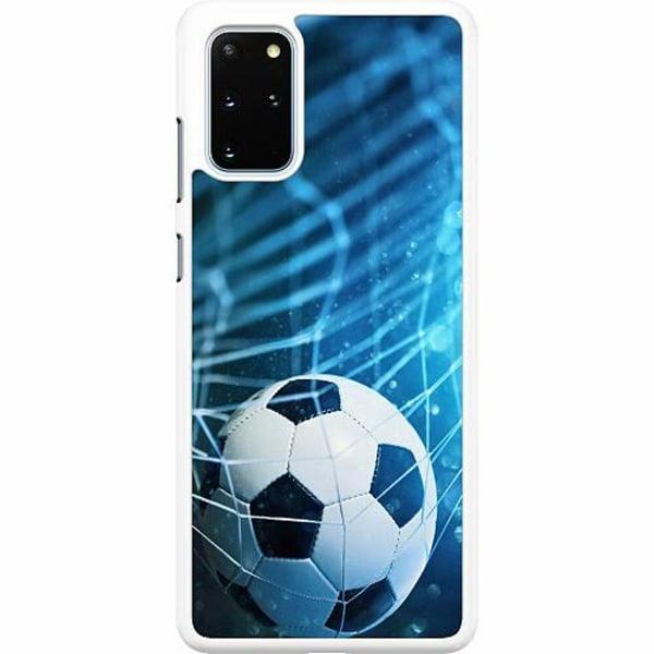 Samsung Galaxy S20 Plus Hard Case (Vit) VM Fotboll 2018