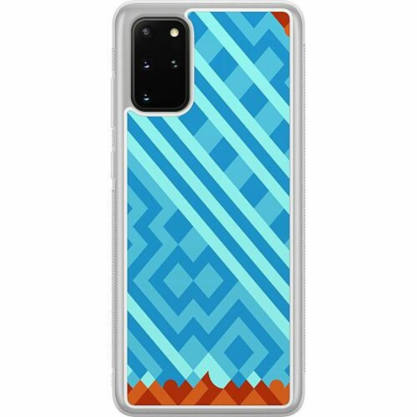 Samsung Galaxy S20 Plus Soft Case (Frostad) Ancient Game Tile