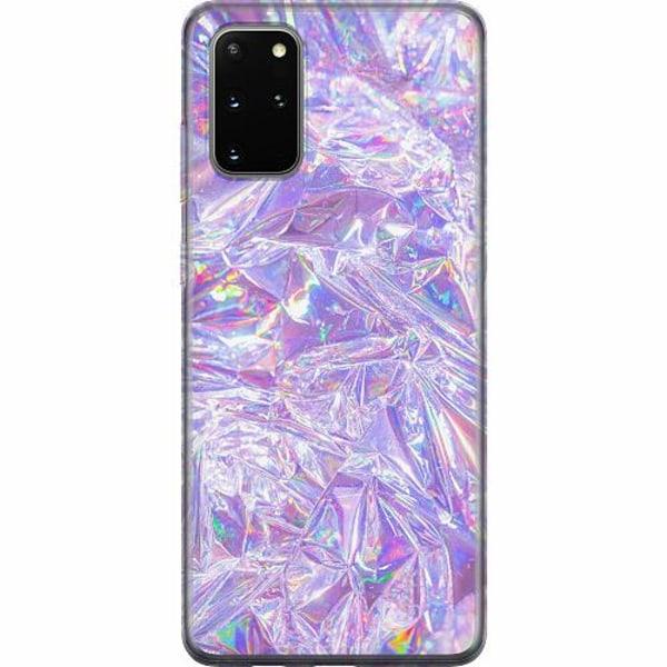 Samsung Galaxy S20 Plus Mjukt skal - Holographic Diamonds