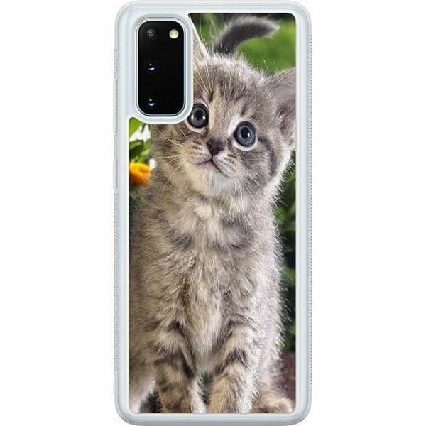 Samsung Galaxy S20 Soft Case (Frostad) Cat