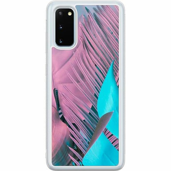 Samsung Galaxy S20 Soft Case (Frostad) Coral Blue Hues