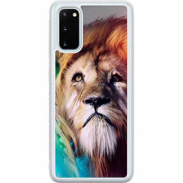 Samsung Galaxy S20 Soft Case (Frostad) Lion