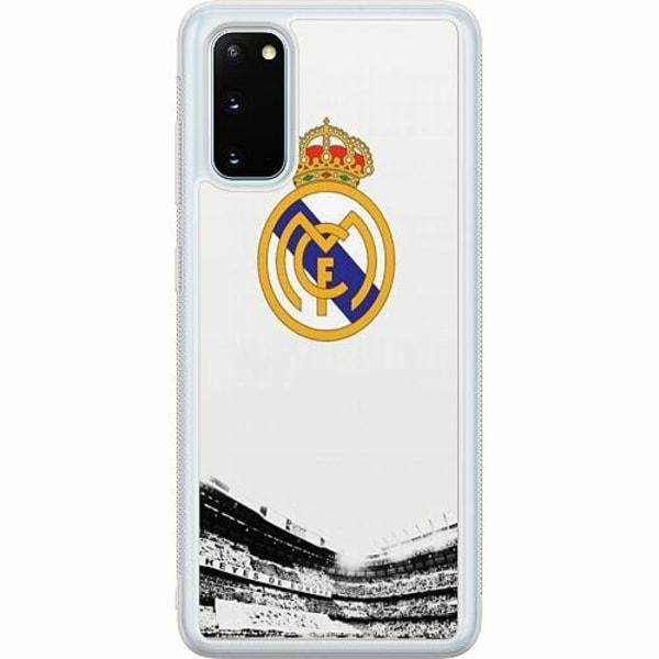 Samsung Galaxy S20 Soft Case (Frostad) Real Madrid CF