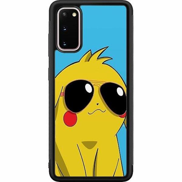 Samsung Galaxy S20 Soft Case (Svart) Pokemon