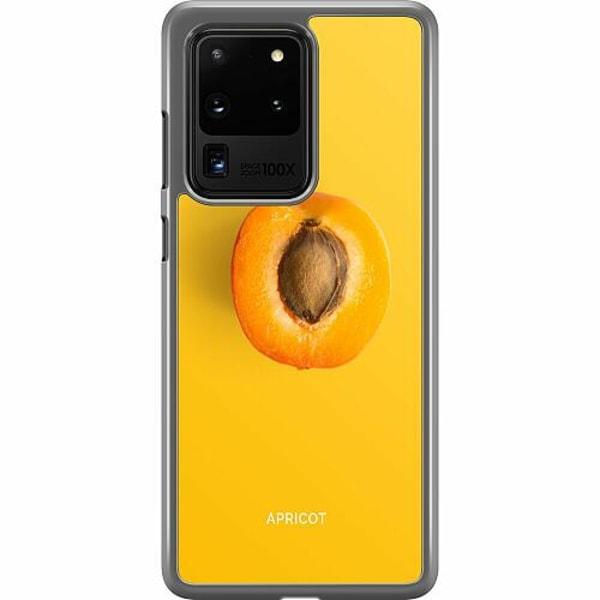 Samsung Galaxy S20 Ultra Hard Case (Transparent) Apricot