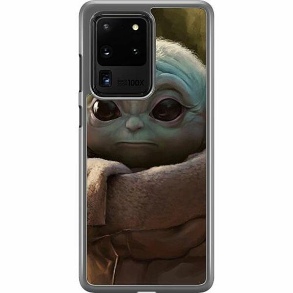 Samsung Galaxy S20 Ultra Hard Case (Transparent) Baby Yoda