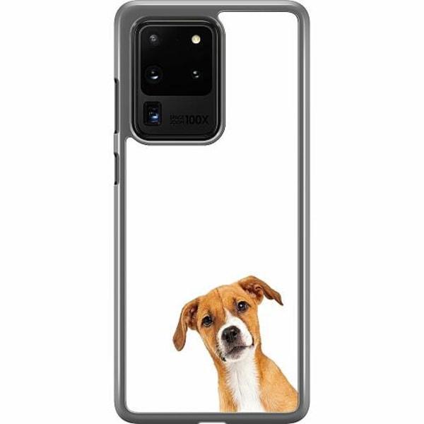 Samsung Galaxy S20 Ultra Hard Case (Transparent) PopUp Dog
