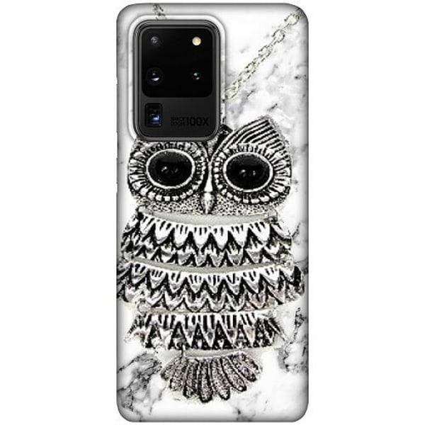 Samsung Galaxy S20 Ultra LUX Mobilskal (Matt) Marmor Uggla