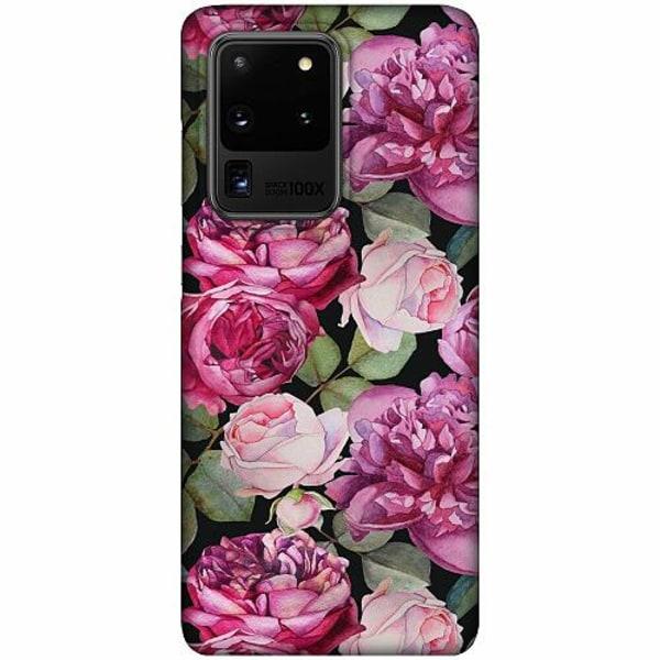 Samsung Galaxy S20 Ultra LUX Mobilskal (Matt) Purple Florals