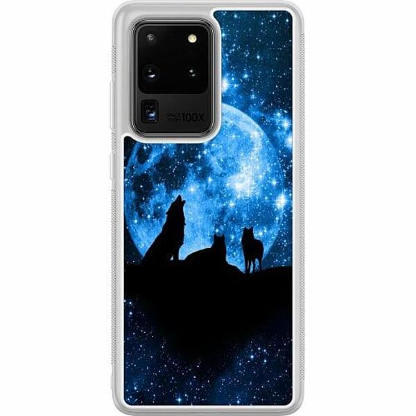 Samsung Galaxy S20 Ultra Soft Case (Frostad) Statement Wolf 1055