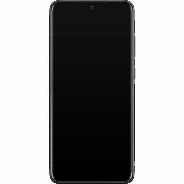 Samsung Galaxy S20 Ultra Soft Case (Svart) >FUCK<
