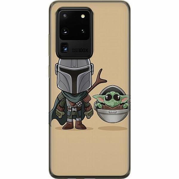 Samsung Galaxy S20 Ultra Mjukt skal - Baby Yoda