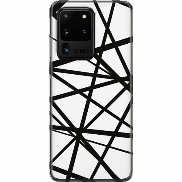 Samsung Galaxy S20 Ultra Mjukt skal - Caught In Webs