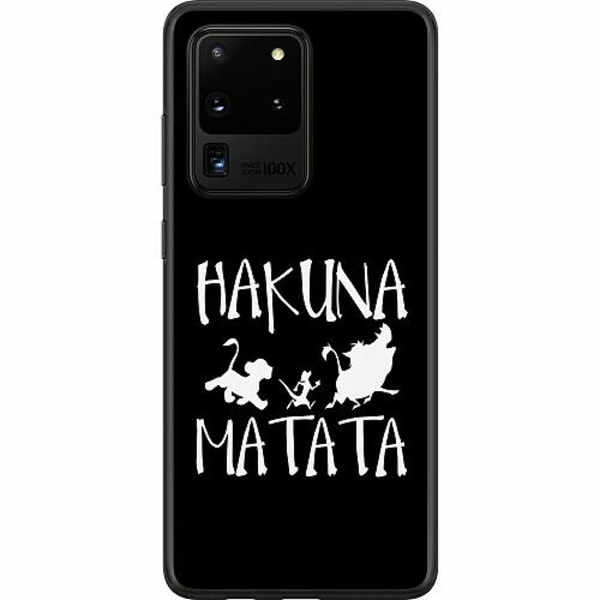 Samsung Galaxy S20 Ultra Mjukt skal - Hakuna Matata