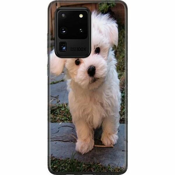 Samsung Galaxy S20 Ultra Mjukt skal - Hund